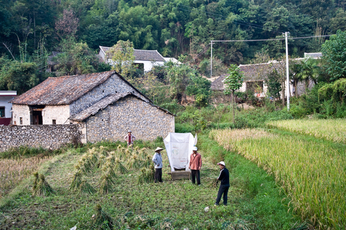 Picture: Undeveloped countryside near Gugan Shui Township.