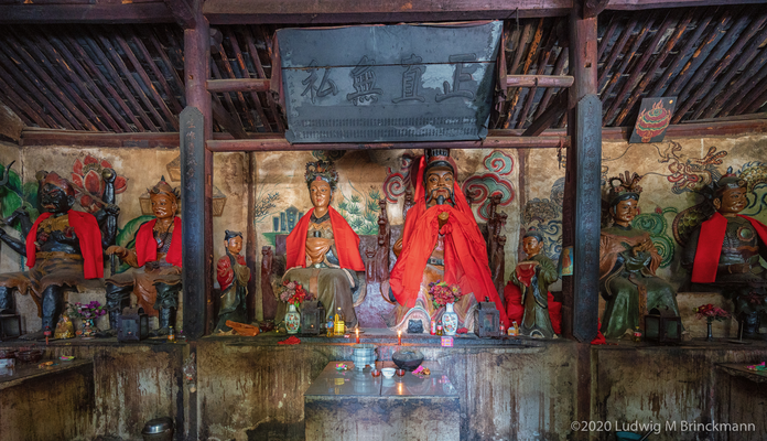 Picture: Yinqiao Village. Benzhu Temple