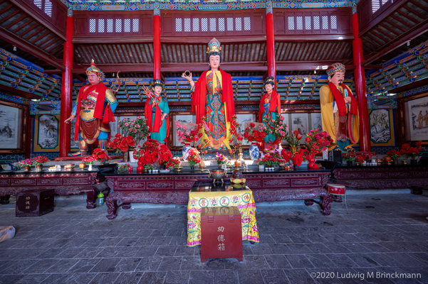 Picture: Holy Baijie Temple 白洁圣妃庙