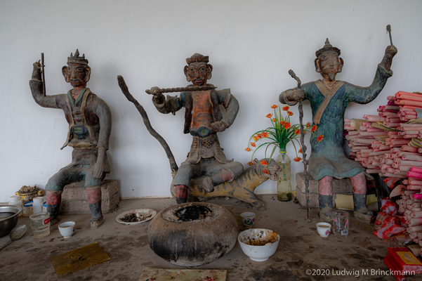 Picture: Sanyang Mountain God Temple