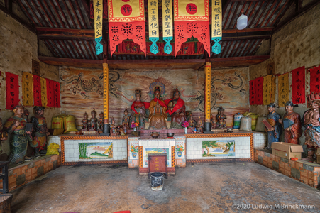 Picture: Wozhong Benzhu Temple