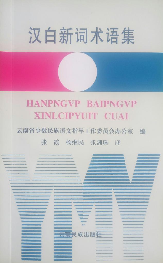Book cover for 汉白新词术语集