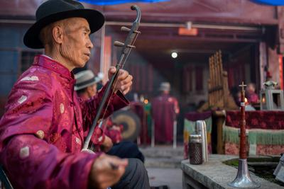 Dongjing Music at the Benzhu Temple