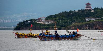 Haidong Dragon Boat Races 海东赛龙船