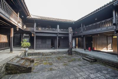 The Dong Family 董家 home was converted into a Japanese brothel in 1942 and is now a museum and memorial.
