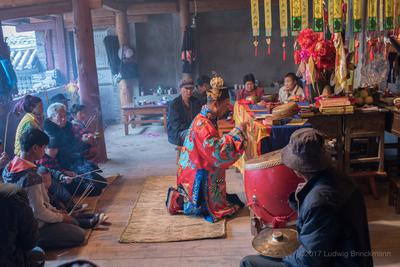 Ancestor Worship of the Bi Family